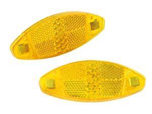Fahrrad-Speichenreflektoren, 2 Stück