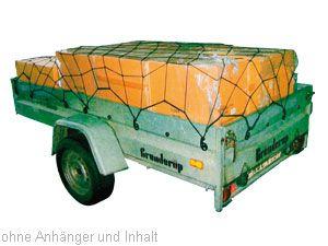 Anhänger- und Gepäcknetz, 120x80 cm - Produktbild 2