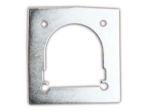 Gegenplatte für Zurrmulde, 120x115 mm