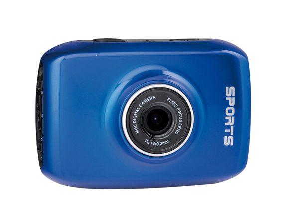 HD Action-Cam PremiumBlue PK-720PO/B, Touch, 720p - Produktbild 1