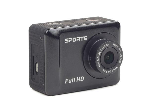 FullHD Action-Cam GEMBIRD mit wasserfestem Gehäuse - Produktbild 1