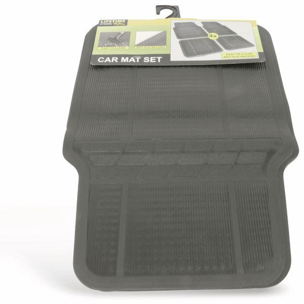 Automatten-Set LIFTIME CARS, 4-teilig, schwarz - Produktbild 1