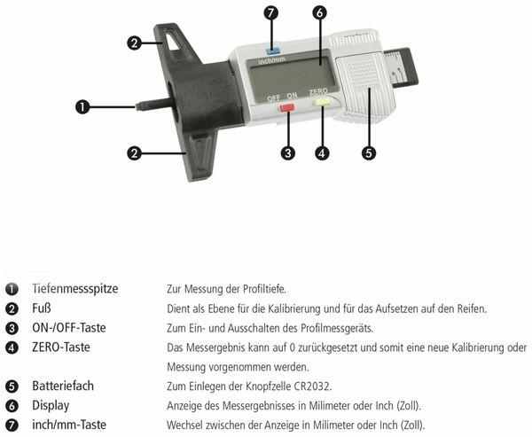 Reifenprofilmessgerät DAYTOOLS RPM-26 - Produktbild 5