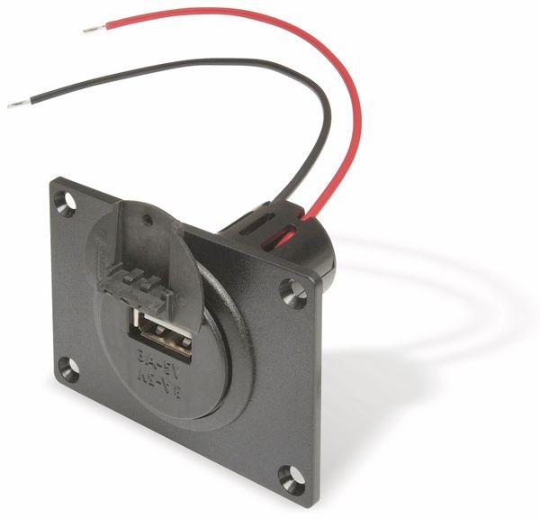 KFZ-Einbaubuchse USB PROCAR 67331500, 1-fach, max 3 A