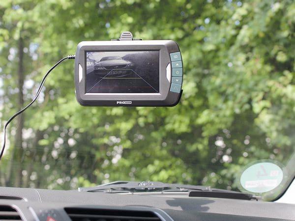 "Funk-Rückfahrkamera ProUser APR043x2 2 Kameras, 4,3"" Monitor - Produktbild 3"