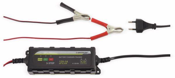 DUNLOP Batterielader für Blei- und Bleigelakku - Produktbild 1