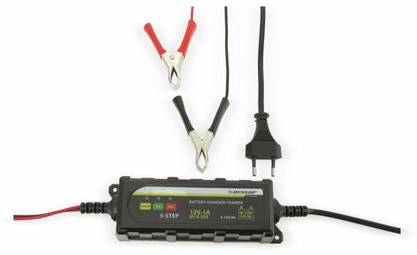 DUNLOP Batterielader für Blei- und Bleigelakku - Produktbild 2