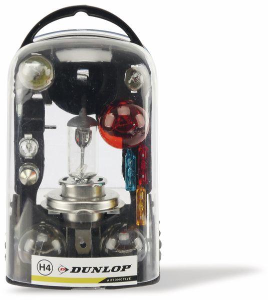 KFZ-Ersatzlampen-Set H4, DUNLOP - Produktbild 1