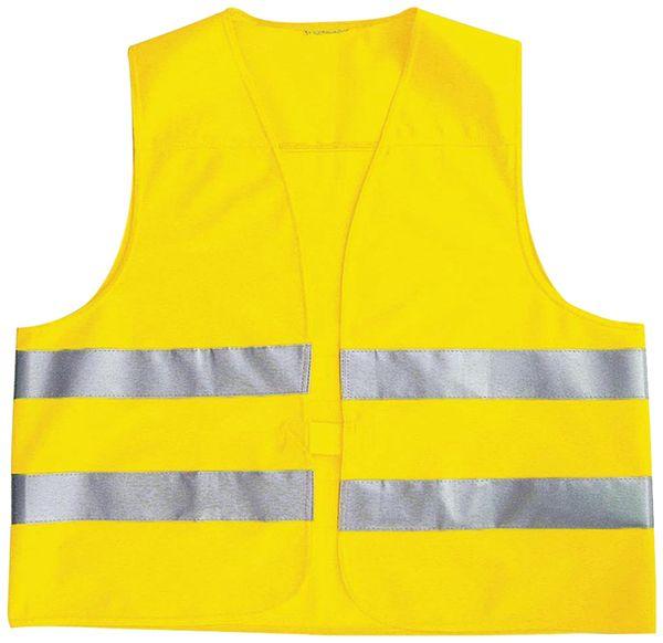 Sicherheitsweste für Kinder, gelb, DIN EN1150-1999