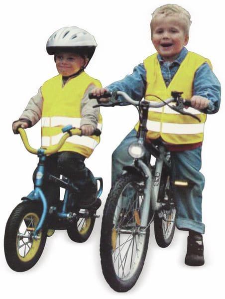 Sicherheitsweste für Kinder, gelb, DIN EN1150-1999 - Produktbild 2