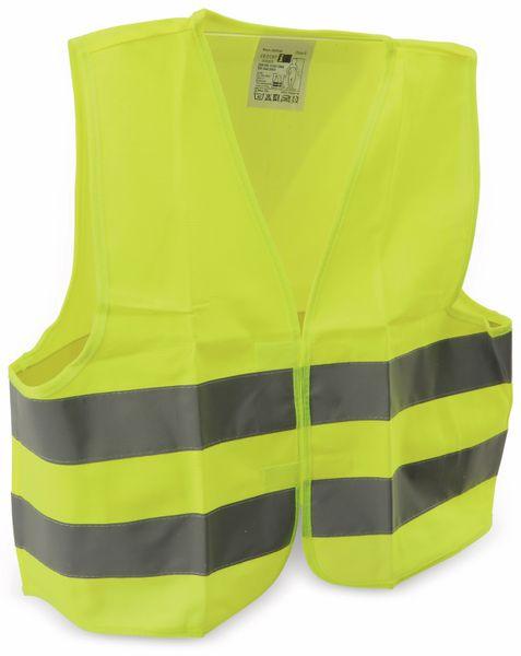 Sicherheitsweste für Kinder, gelb, DIN EN1150-1999 - Produktbild 4