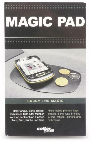 Antirutschmatte MAGIC PAD, 150x100 mm, schwarz - Produktbild 4