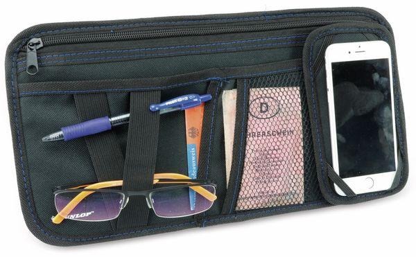Sonnenblenden Organizer DUNLOP, 18,5 x 36, schwarz - Produktbild 2