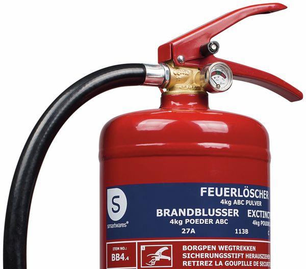 Feuerlöscher, Pulver, 4 kg, Brandklasse 27A, 113B,C - Produktbild 2