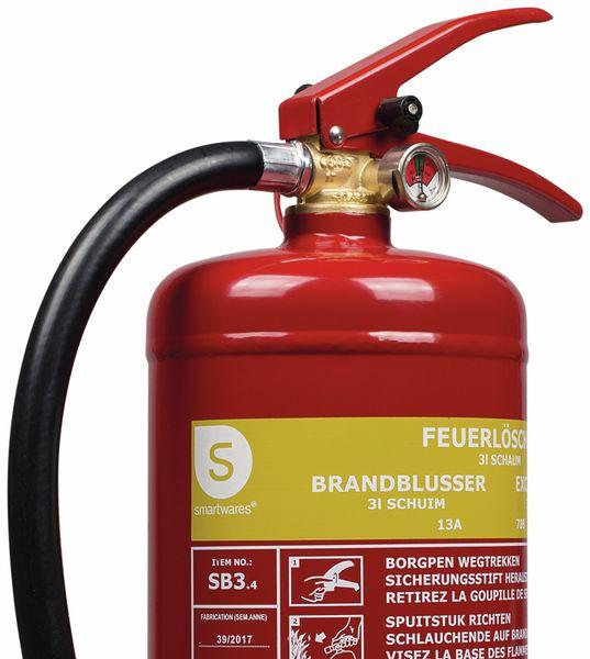 Feuerlöscher, Schaum, 3 L, Brandklasse 13A, 70B - Produktbild 2