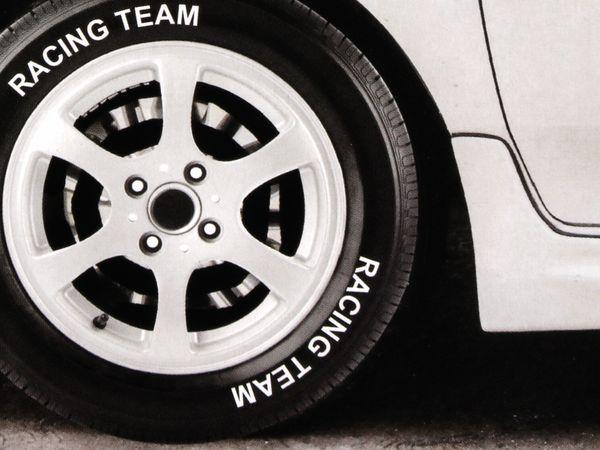 Reifenmarkierstift, Dunlop, weiß - Produktbild 2
