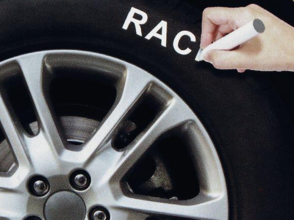 Reifenmarkierstift, Dunlop, weiß - Produktbild 3