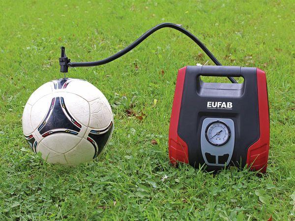 Luftkompressor EUFAB, 8,3 bar, 12/230 V - Produktbild 4
