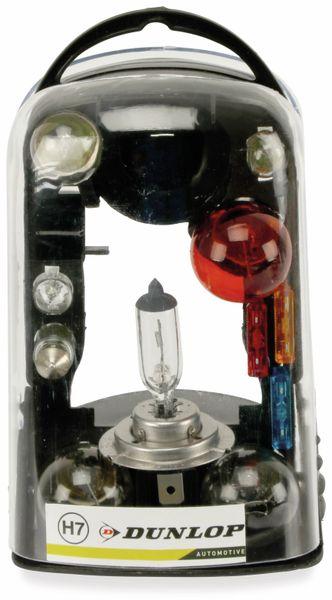 KFZ-Ersatzlampen-Set H7, Dunlop, 11-teilig - Produktbild 2