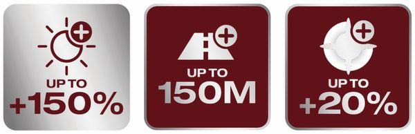 Halogen-Autolampe H1 OSRAM Night Breaker Laser (NG) 64150NL, 2 Stück - Produktbild 4
