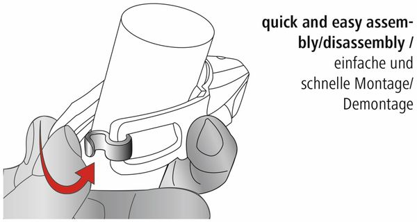 Fahrrad-Scheinwerfer-Set HAMA Profi L.E.D. - Produktbild 9
