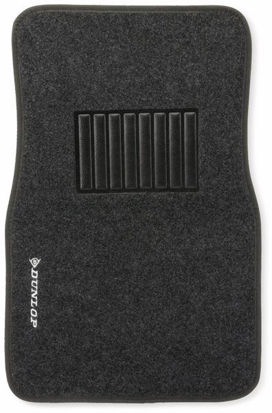 Universal Fußmatten DUNLOP, 4-teilig, schwarz - Produktbild 2
