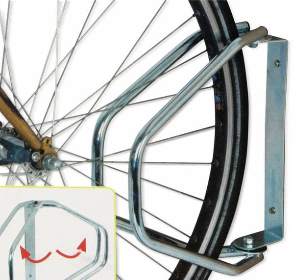 Fahrrad-Wandhalter DUNLOP, schwenkbar - Produktbild 4