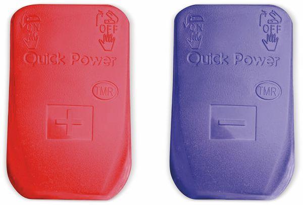 Batteriepolschnellklemmen, isoliert, rot/blau - Produktbild 2