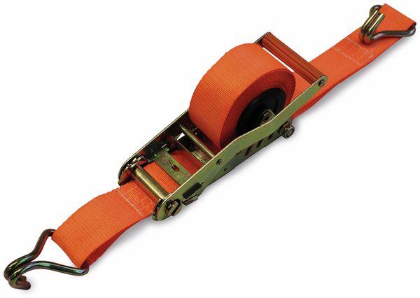 Automatik-Spanngurt LAS 10309, 500x5 cm, 1000 daN, TÜV/GS - Produktbild 1