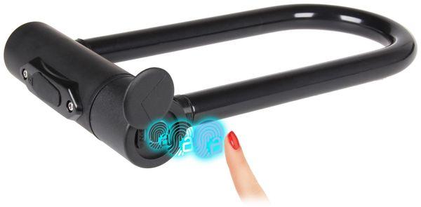 Fahrradschloss mit Fingerabdrucksensor, JOY-IT