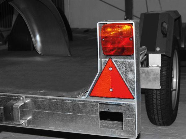 Dreieck-Reflektor-Set, rot, 2 Stück - Produktbild 2