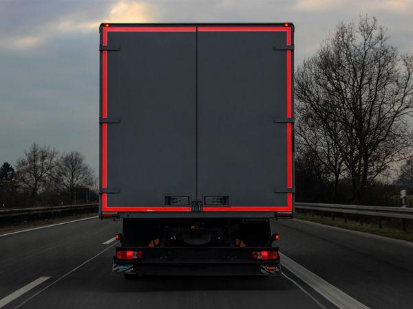 Reflektorband, rot, 2m, selbstklebend - Produktbild 3