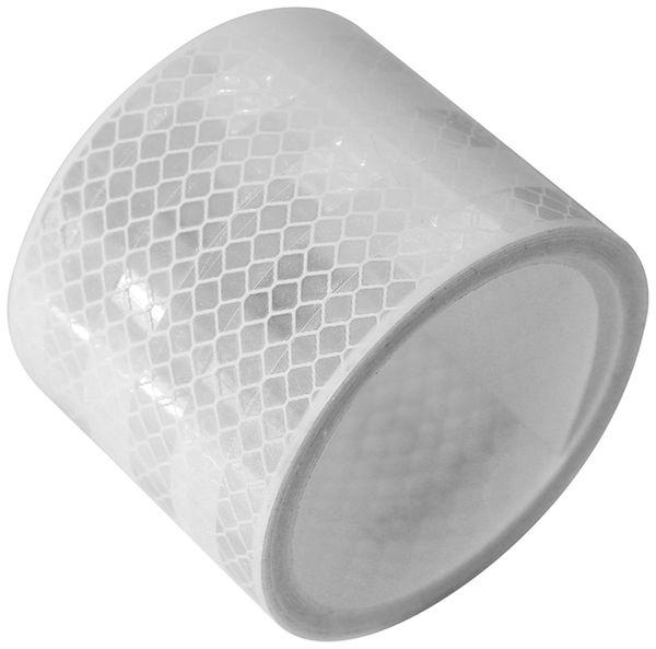 Reflektorband, weiß, 2m, selbstklebend