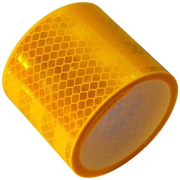 Reflektorband, gelb, 2m, selbstklebend