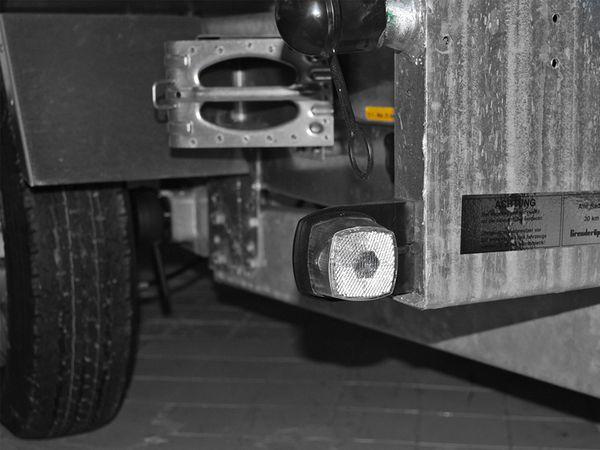 Positionsleuchte, 66x62 mm, weiß, mit Reflektor - Produktbild 2