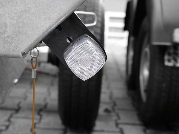 Positionsleuchte, 66x62 mm, weiß, mit Reflektor - Produktbild 3
