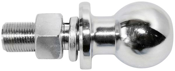Kupplungskugel, 50 mm, bis 2000 Kg, mit Gewinde