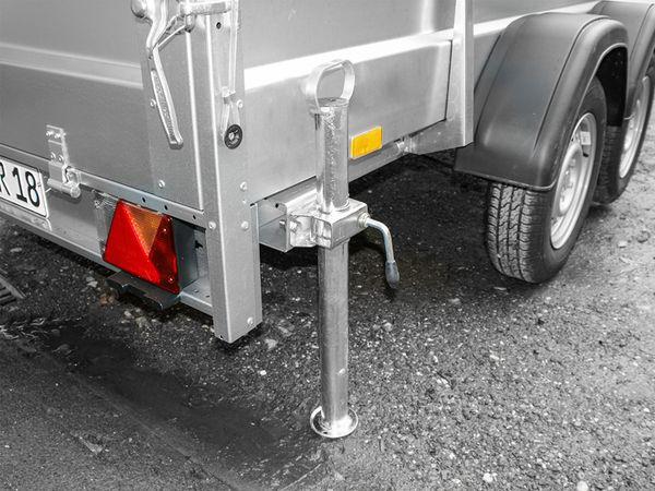 Abstellstütze mit Handgriff, 70 cm, Ø48 mm, Stahl - Produktbild 2
