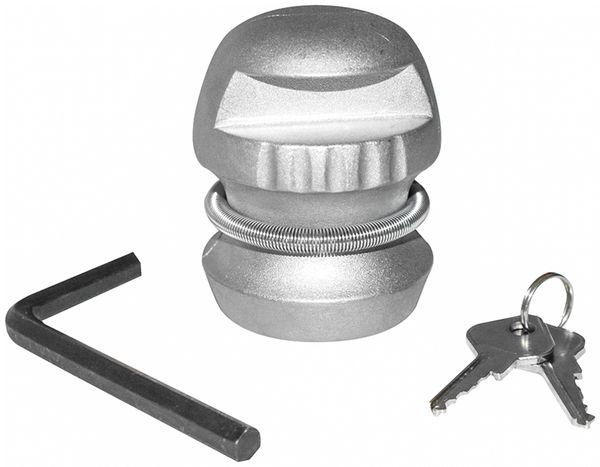 Anhänger-Diebstahlsicherung, 50 mm, Stahl, 2 Schlüssel