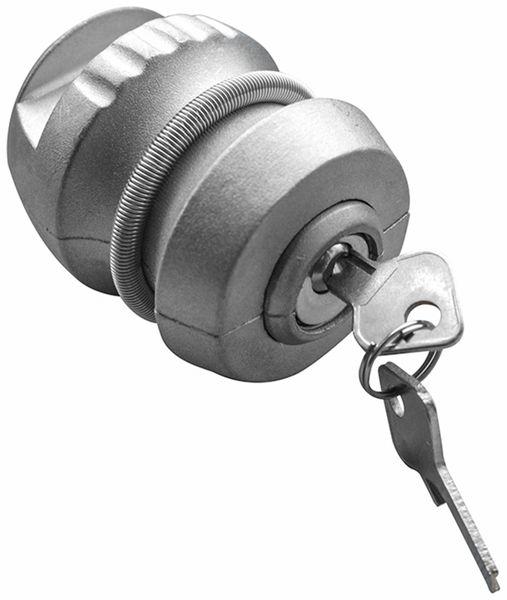 Anhänger-Diebstahlsicherung, 50 mm, Stahl, 2 Schlüssel - Produktbild 4