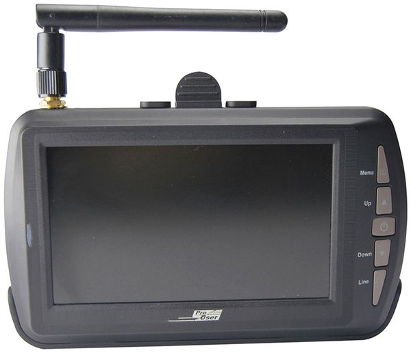 Funk-Rückfahrkamera PRO USER DRC4340, 12/24 V