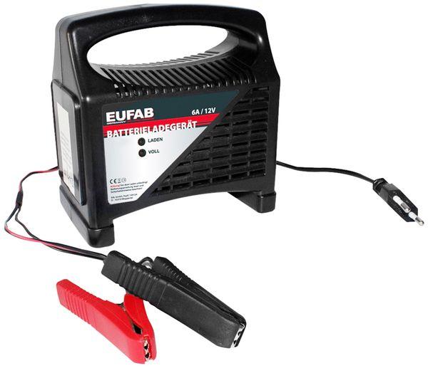 Batterie-Ladegerät EUFAB 16542, 12 V, 6 A