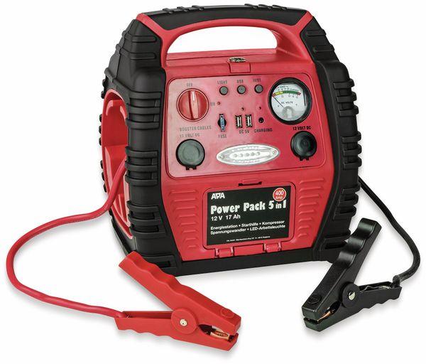 Starthilfegerät APA 16547NV, 5in1 Powerpack