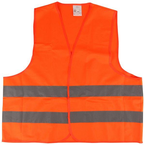 Sicherheitsweste, orange, EN ISO 20471