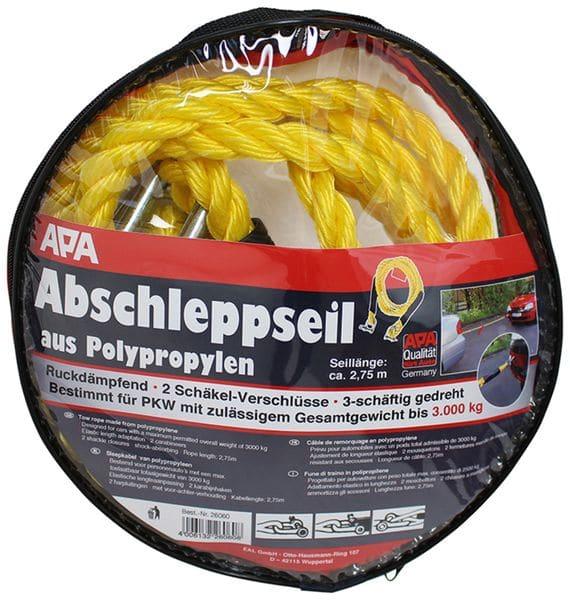 Abschleppseil APA 26060, 2,75 m, 3000 kg - Produktbild 4