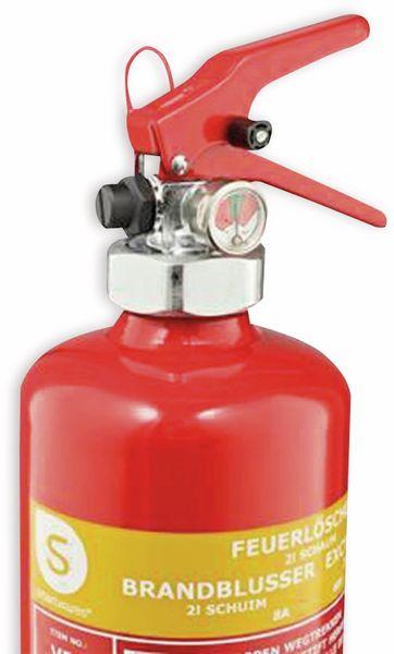 Feuerlöscher, Nasschemie, 2 L, Brandklasse 8A, 40F - Produktbild 2