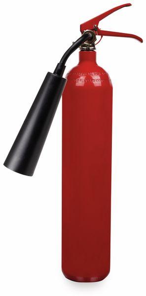 Feuerlöscher, Kohlendioxid, 2 kg, Brandklasse 34B, CB2