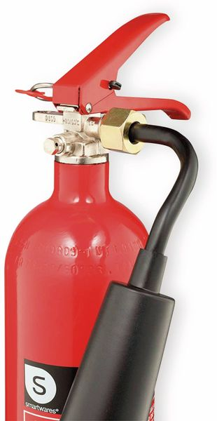 Feuerlöscher, Kohlendioxid, 2 kg, Brandklasse 34B, CB2 - Produktbild 2