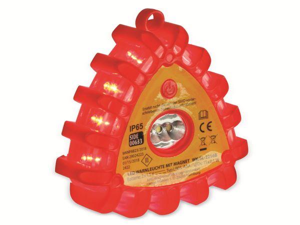 LED-Warnlicht, 12 rote LEDs, mit Magnet - Produktbild 3