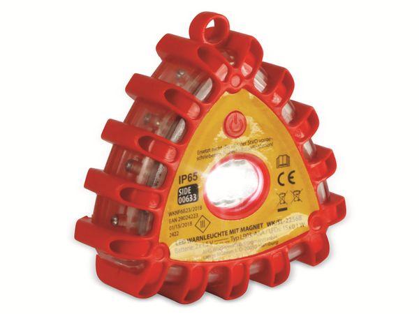 LED-Warnlicht, 12 rote LEDs, mit Magnet - Produktbild 4